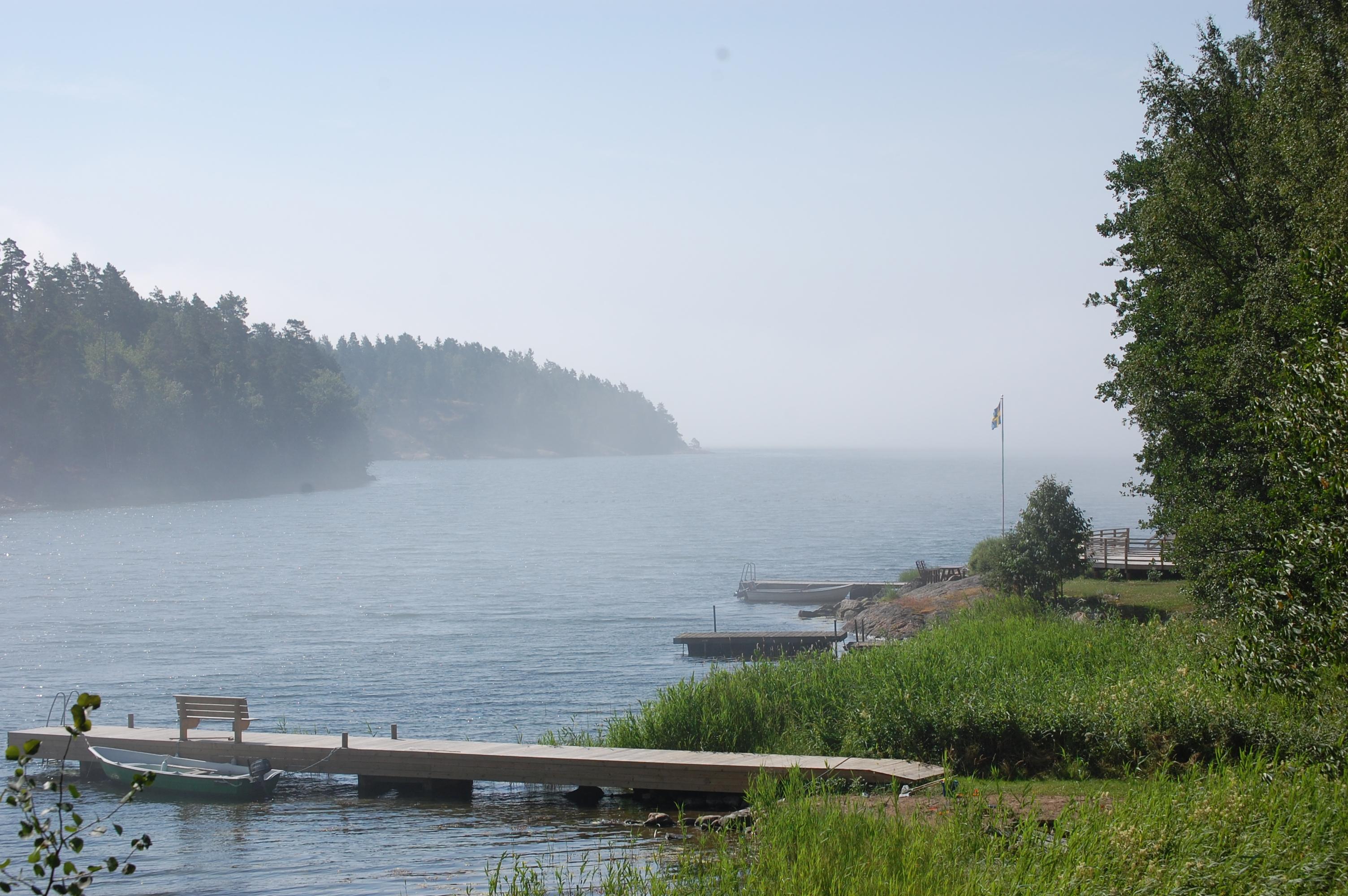 A foggy morning, Gryt archipelago, Valdemarsvik, Sweden.