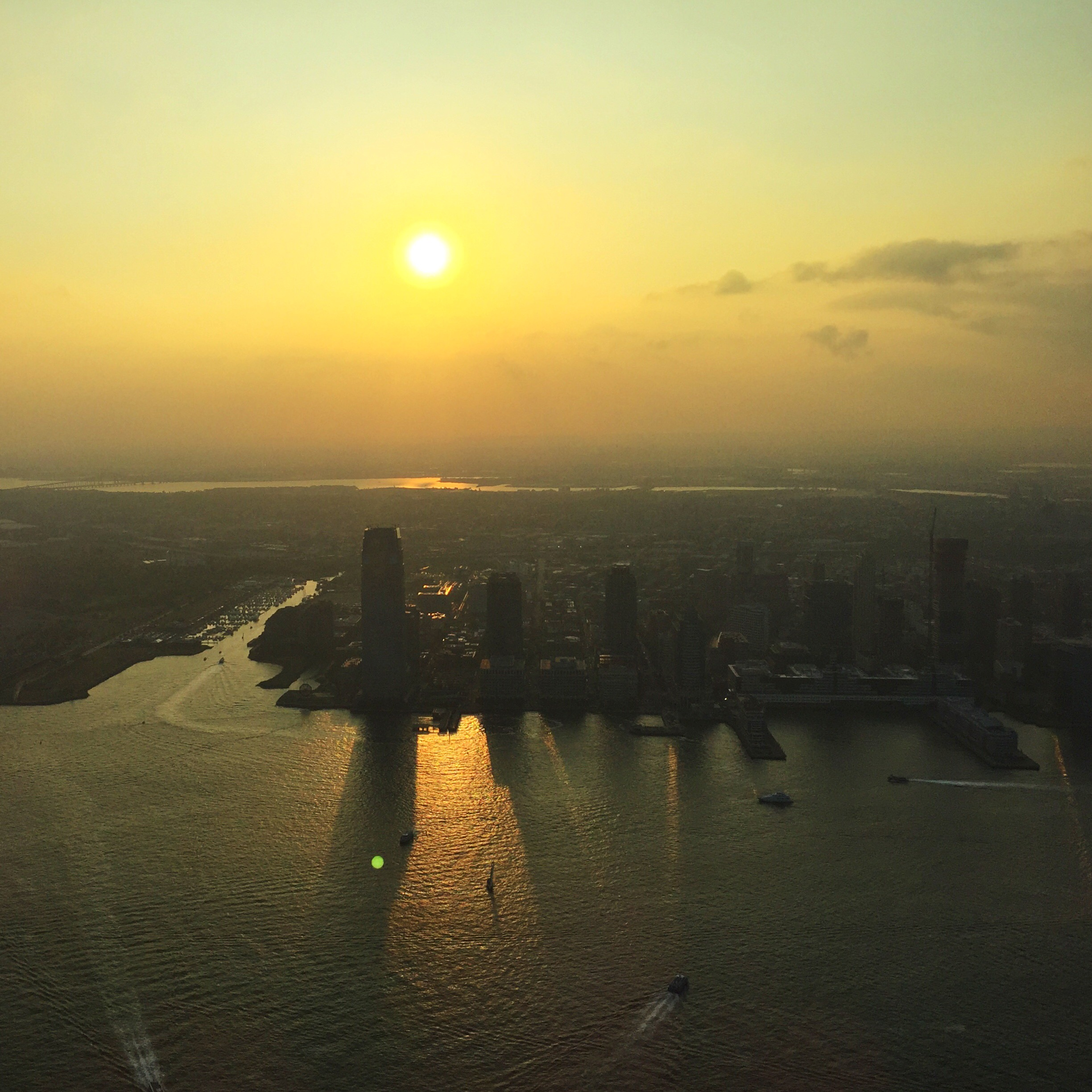 Sunset: View from One World Observatory