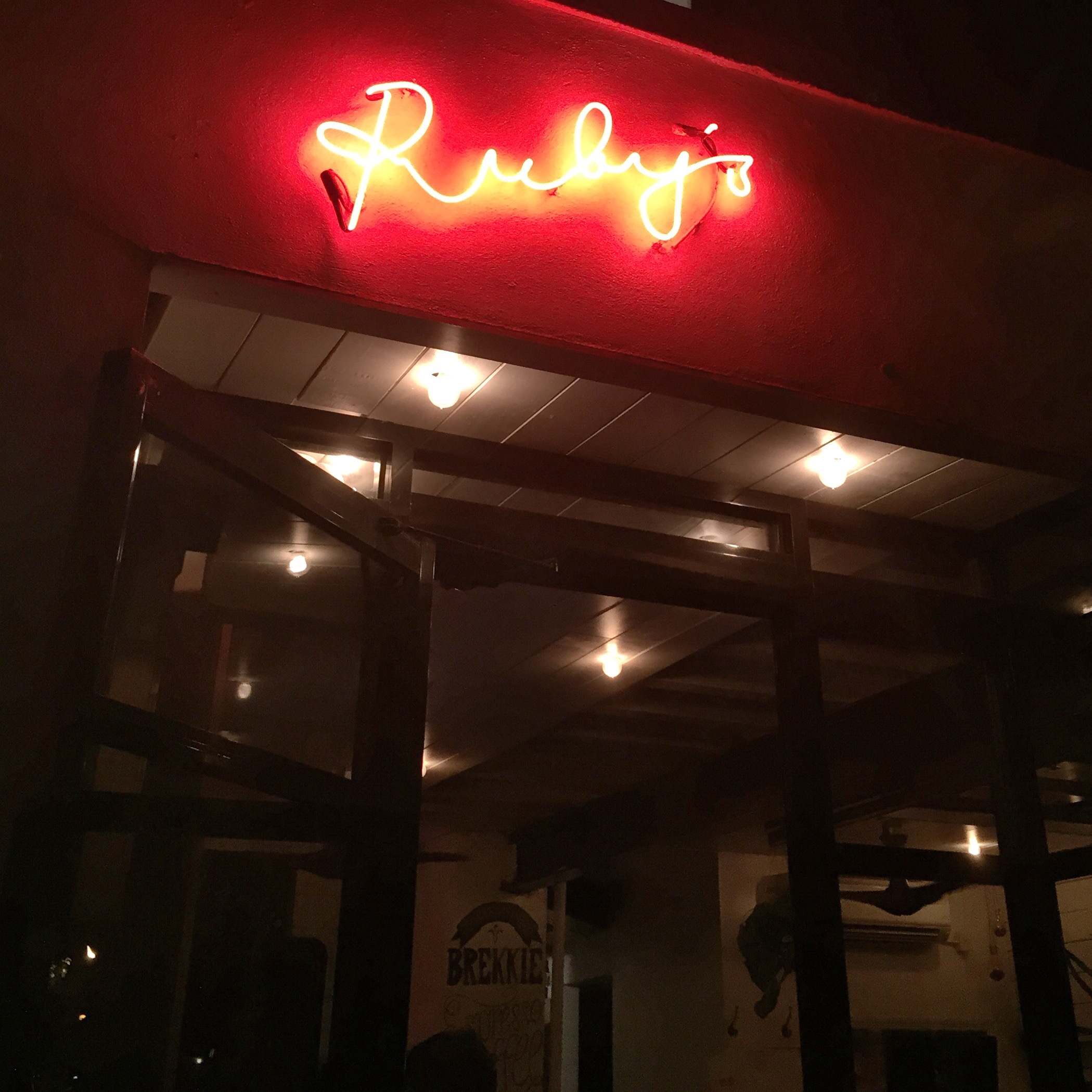Ruby's Café, Nolita, New York