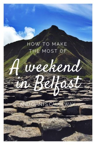 A weekend in Belfast