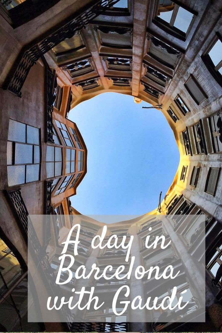A day in Barcelona with Gaudí