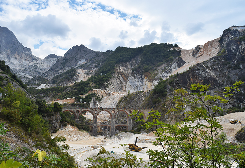 Guided Tour To The Carrara Marble Quarries The World Is