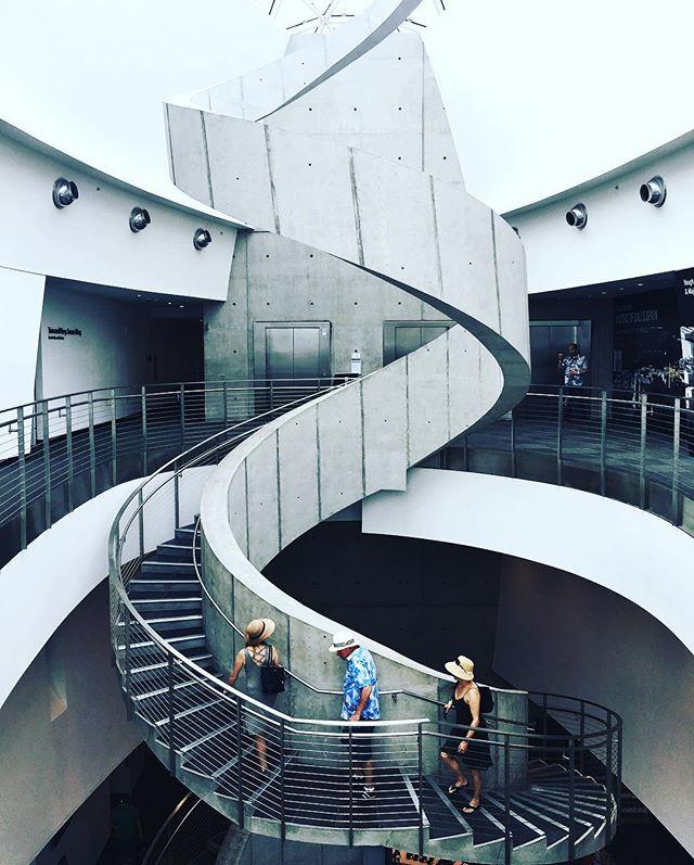 Dali Museum spiral staircase