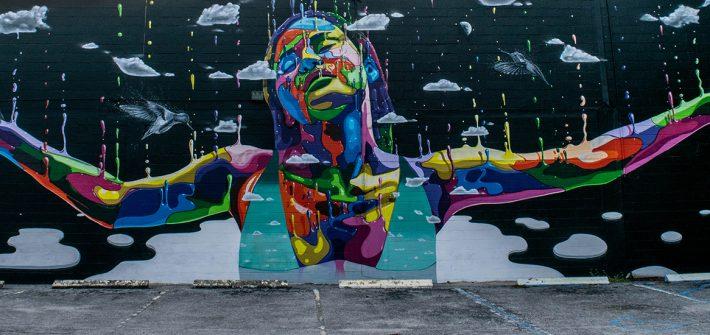 mural tour st petersburg florida - Art by Chilean artist Dasic Fernandez