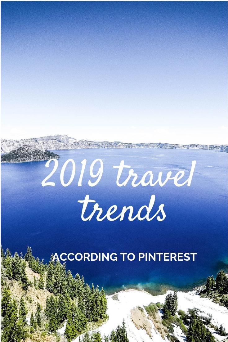 2019 travel trends