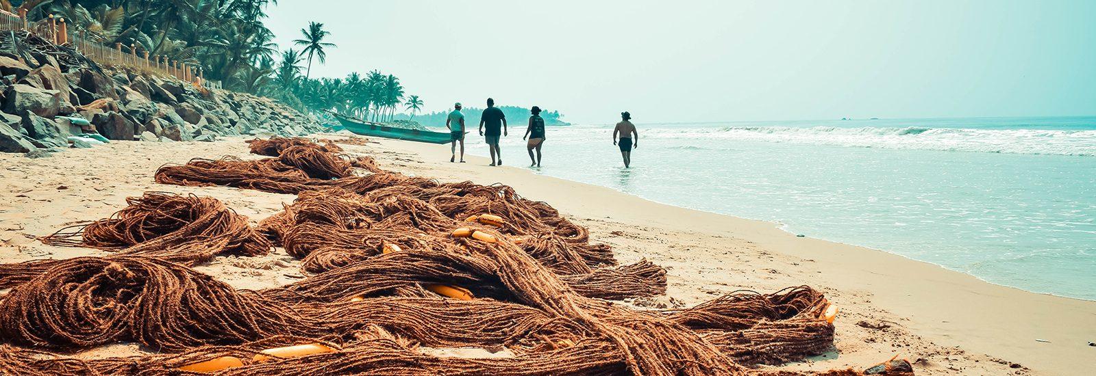 Sri Lanka Gintota beach