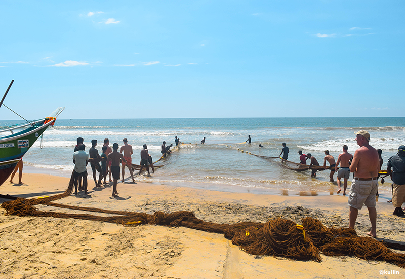 fishing in Sri Lanka