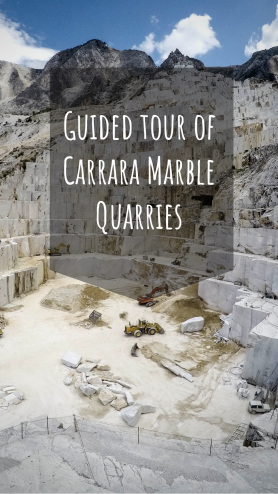 Tour of Carrara marble quarries