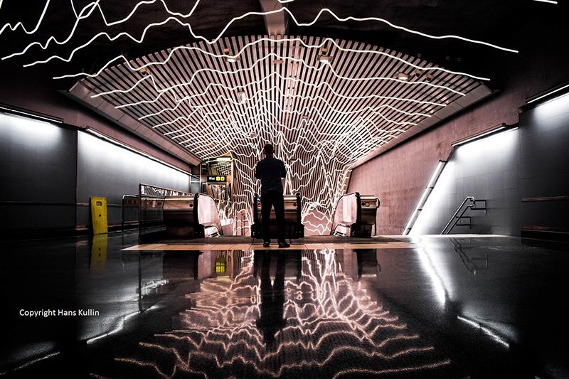 Life line art Stockholm