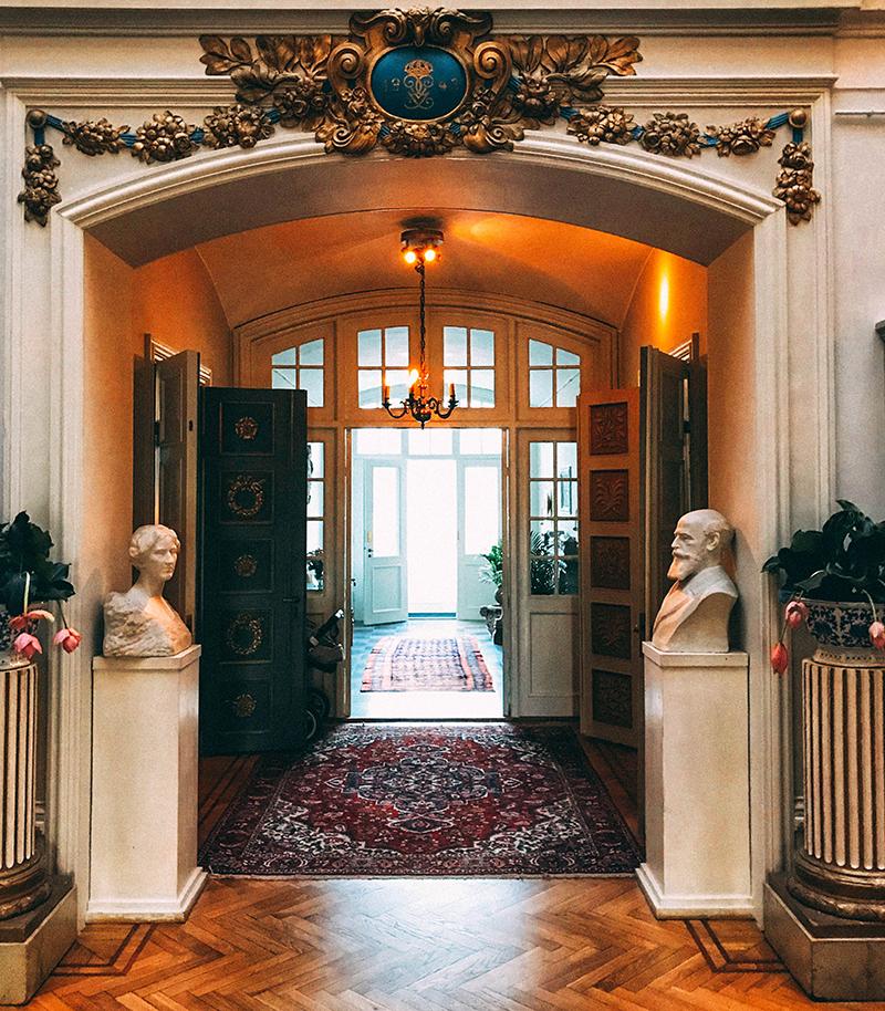 Interior Näsby castle