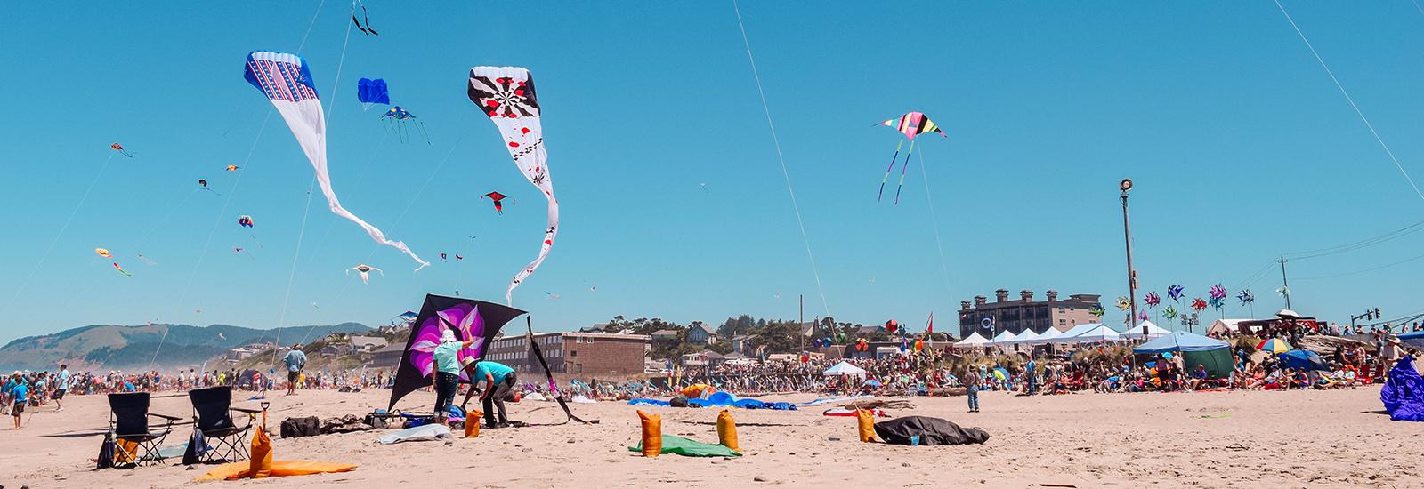 Lincoln City summer kite festival